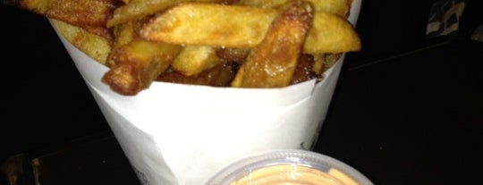 Pommes Frites is one of Go-To Restaurants per NYC Neighborhoods.