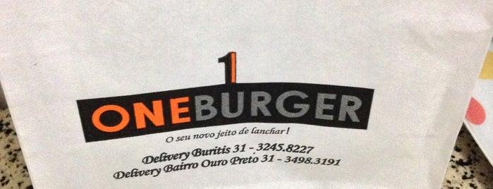 One Burguer is one of Tempat yang Disukai Filipe.