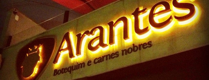 Arantes Botequim e Carnes Nobres is one of Restaurantes.