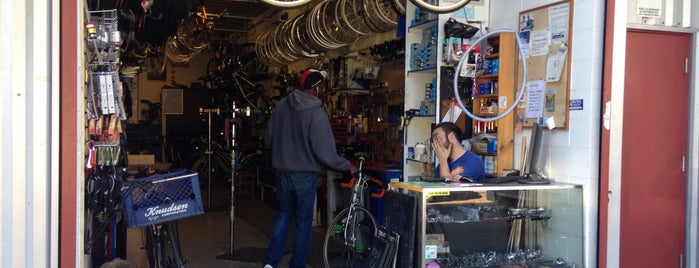 Treat Street Bicycle Works is one of chrissy.