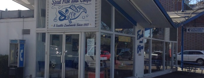 Spud Fish & Chips is one of Soy Free Restaurants!.