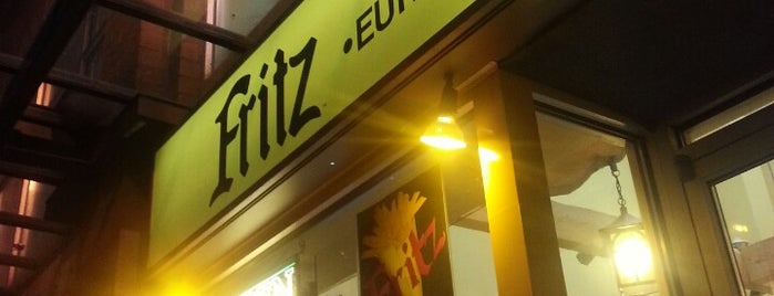 Fritz European Fry House is one of Comida por conocer.