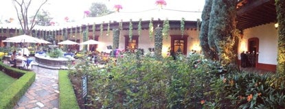 San Angel Inn is one of Thigs to do in Mexico city.