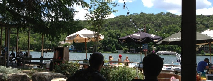 Ski Shores Waterfront Cafe is one of Austin - tried and true.