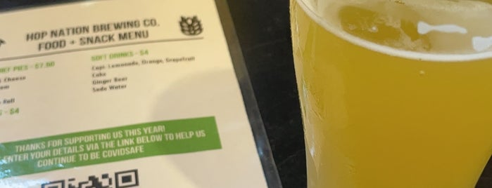 Hop Nation Brewing Co. is one of Mission: Melbourne.