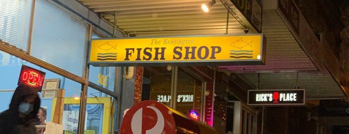 Kensington Fish & Chips is one of สถานที่ที่ Nate ถูกใจ.
