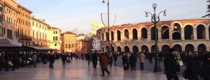 Piazza Bra is one of visit again.