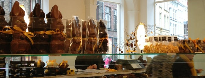 Chocolaterie Dumon is one of sweets europe.
