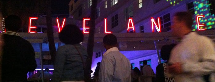 Clevelander South Beach Hotel and Bar is one of New Times' Best of Miami 10x Level up - Checked.