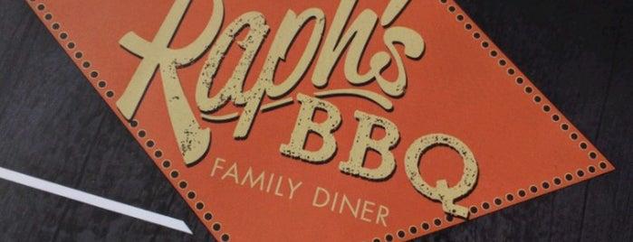 Raph's BBQ Family Diner is one of Gespeicherte Orte von Navid.