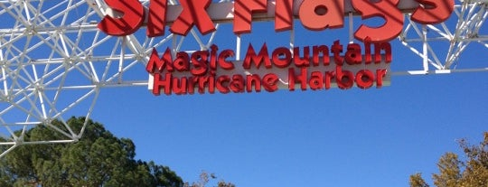 Six Flags Magic Mountain is one of L.A. My Places.