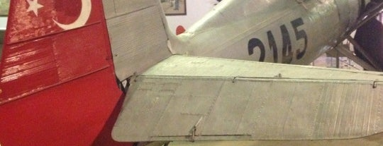 Havacılık Müzesi is one of สถานที่ที่ Cennet ถูกใจ.