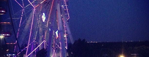 Texas Star Ferris Wheel is one of 67 Things to do in Dallas Before You Die or Move.