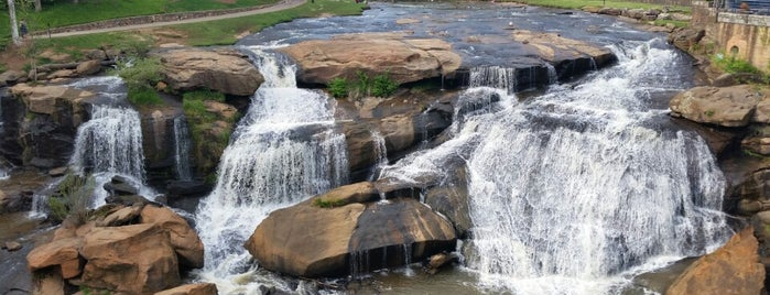 Falls Park On The Reedy is one of A State-by-State Guide to America's Best Parks.