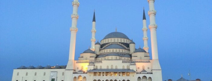 Kocatepe Camii is one of Ankara.