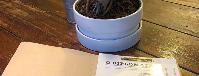 O Diplomata is one of Peq. Alm. & Lanche (Grande Porto).