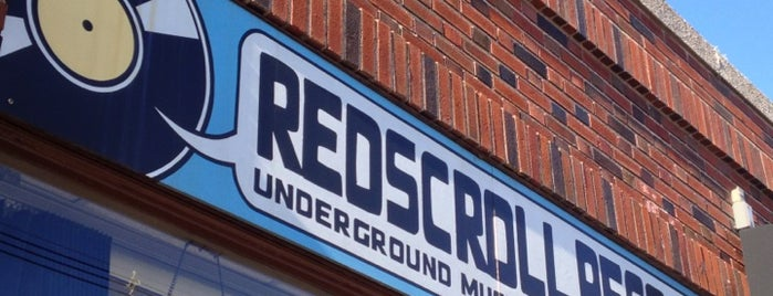 Redscroll Records is one of Tempat yang Disukai Lindsaye.