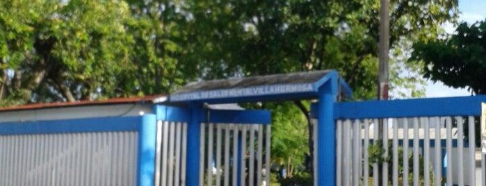 Hospital Regional de Alta Especialidad en Salud Mental De Villahermosa is one of Joaquinさんのお気に入りスポット.