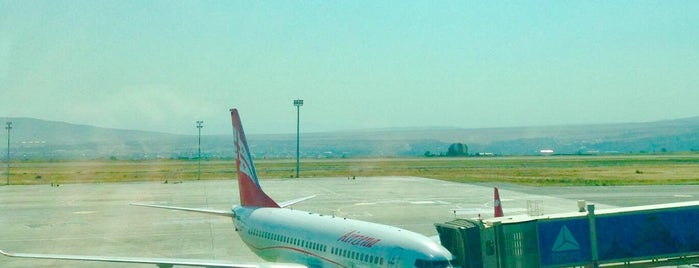 Flight A9 785 Tbilisi — St.Petersburg is one of Tempat yang Disukai Vasiliy.