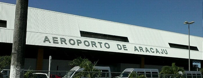 Aeroporto Internacional de Aracaju / Santa Maria (AJU) is one of Claudio : понравившиеся места.
