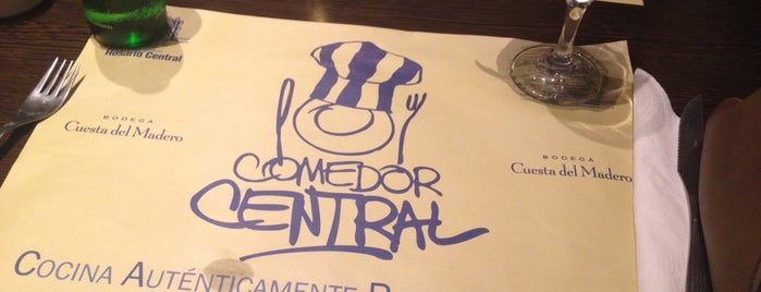 Comedor Central is one of Lucas 님이 좋아한 장소.
