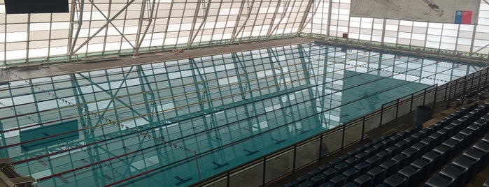Piscina Olimpica Estadio Nacional is one of Rodney : понравившиеся места.