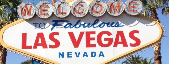 Welcome To Fabulous Las Vegas Sign is one of Vegas Favorites by a Local.