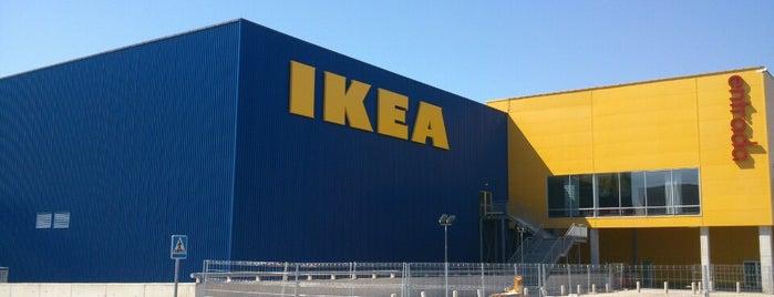 IKEA is one of Lugares favoritos de Paola.