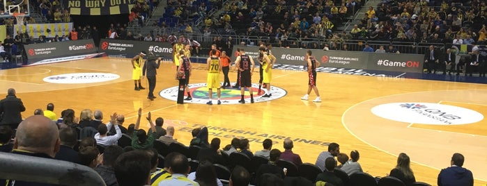 Ülker Spor ve Etkinlik Salonu is one of Posti che sono piaciuti a Mujdat.