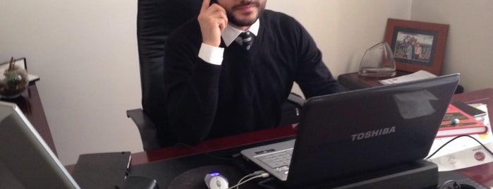 Öncel, Aydın & Duman Attorney Partnership - Avukatlık Ortaklığı is one of Gespeicherte Orte von Mujdat.