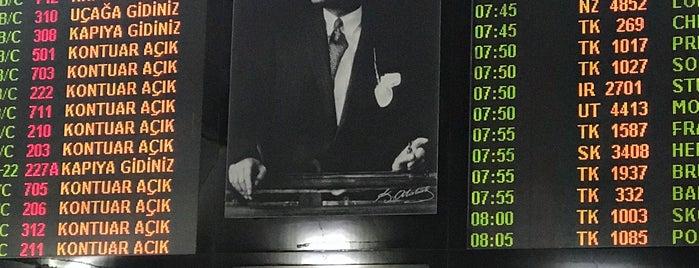 Aéroport Atatürk d'Istanbul (ISL) is one of Lieux qui ont plu à Mujdat.