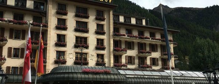 Grand Hotel Zermatterhof is one of Posti che sono piaciuti a Mujdat.