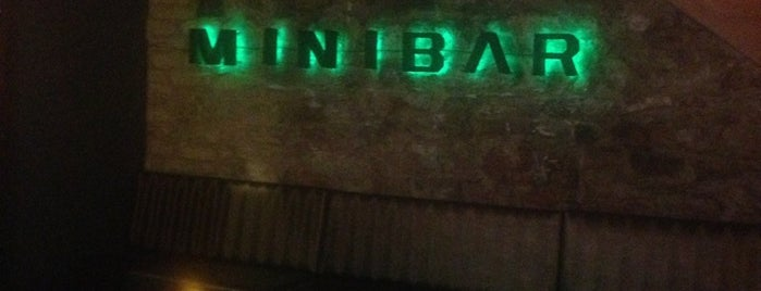 Minibar is one of Locais curtidos por Dy.