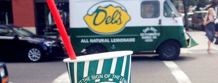 Del's NYC Frozen Lemonade is one of Food Carts.
