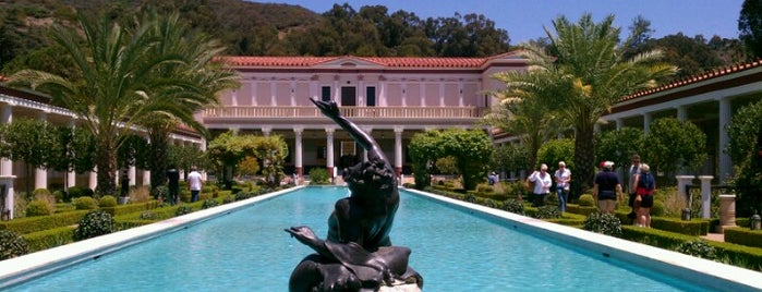 J. Paul Getty Villa is one of LA.