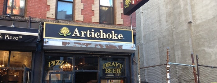 Artichoke Basille's Pizza is one of New York.