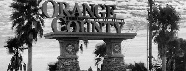 Orange County Sign is one of US Trip -CA.