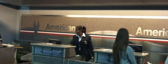 American Airlines Check-in is one of Travel.