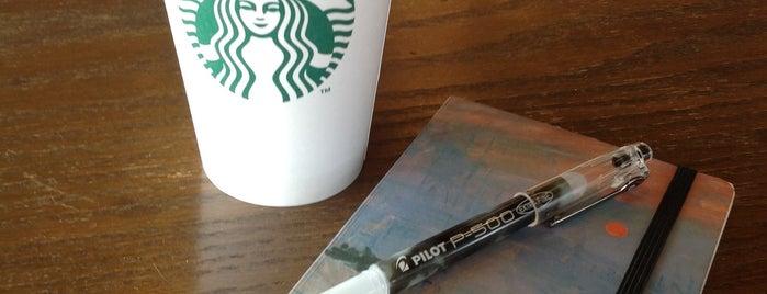 Starbucks is one of Irinaさんのお気に入りスポット.