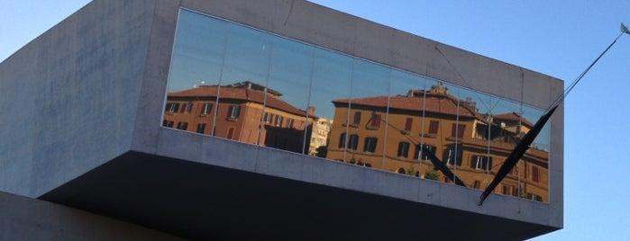 MAXXI Museo Nazionale delle Arti del XXI Secolo is one of Rome.