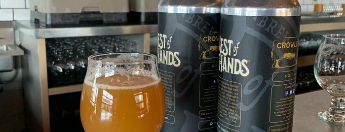 Best of Hands Barrelhouse is one of Craft Beer: Pacific Northwest.