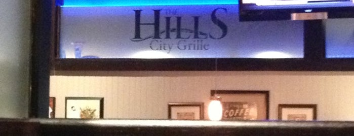 The Hills City Grille is one of Locais curtidos por Megan.