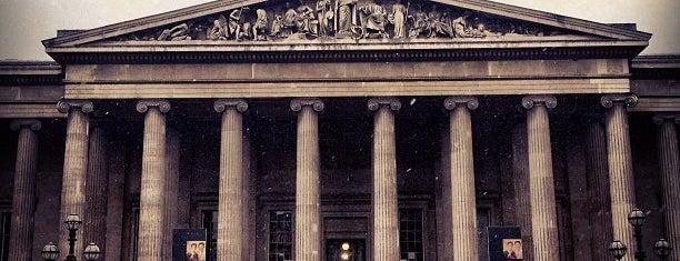 British Museum is one of Po stopách Karla Čapka v Anglii.