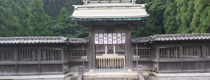 鶴嶺神社 is one of 鹿児島探検隊.