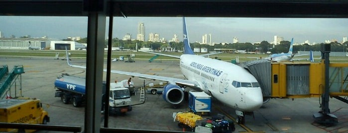 Check-in Aerolíneas Argentinas is one of Orte, die Alejandro gefallen.