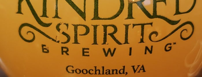 Kindred Spirit Brewing is one of Breweries I've been to..