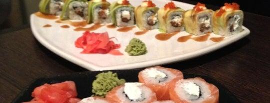 Планета Суши is one of Sushi. Kyiv. Японская кухня.