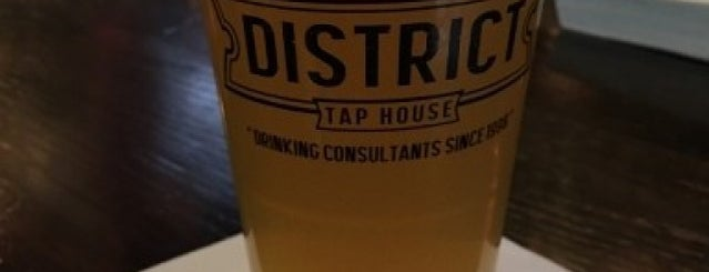 District Tap House is one of Ales N' Apps Week Presented by CBS New York.
