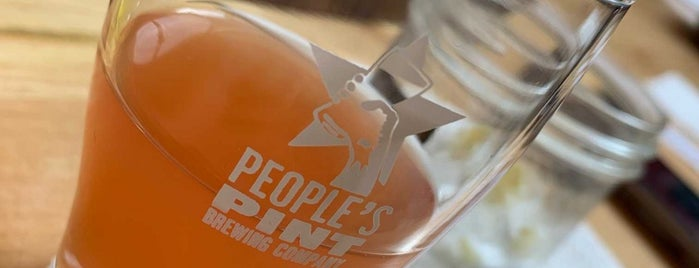 People's Pint Brewing Company is one of Toronto Map.