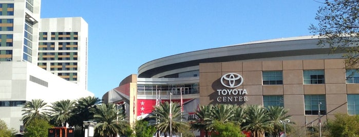 Toyota Center is one of Salas de espetaculos.